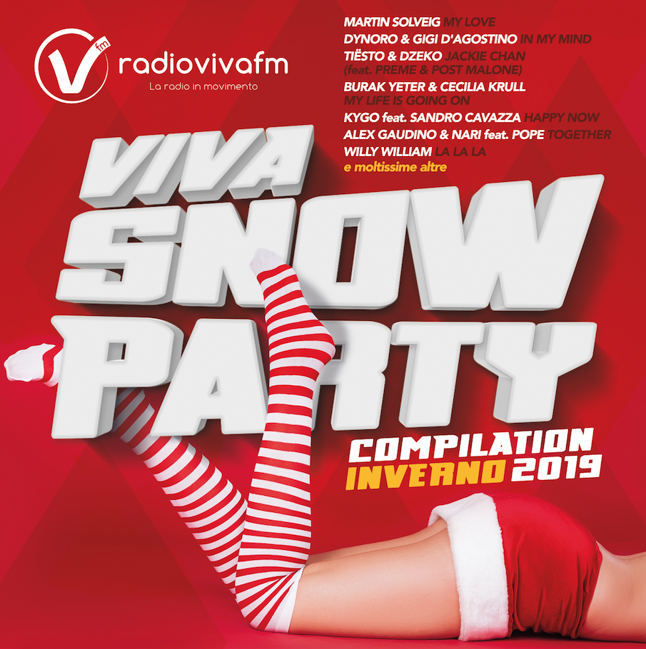 VIVA SNOW PARTY COMPILATION INVERNO 2019