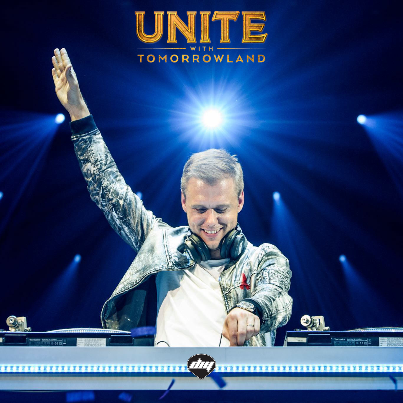 "ARMIN VAN BUUREN tra gli headliners di ""UNITE WITH TOMORROWLAND"""