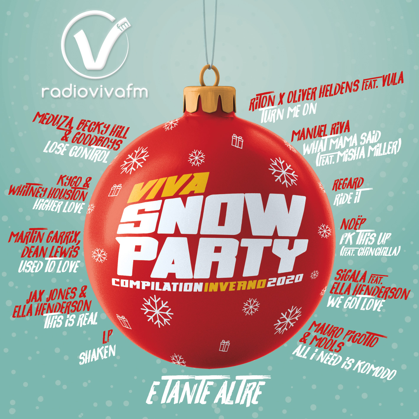 VIVA SNOW PARTY COMPILATION INVERNO 2020